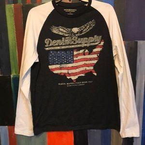 Denim & Supply Ralph Lauren  Long Sleeve T Shirt